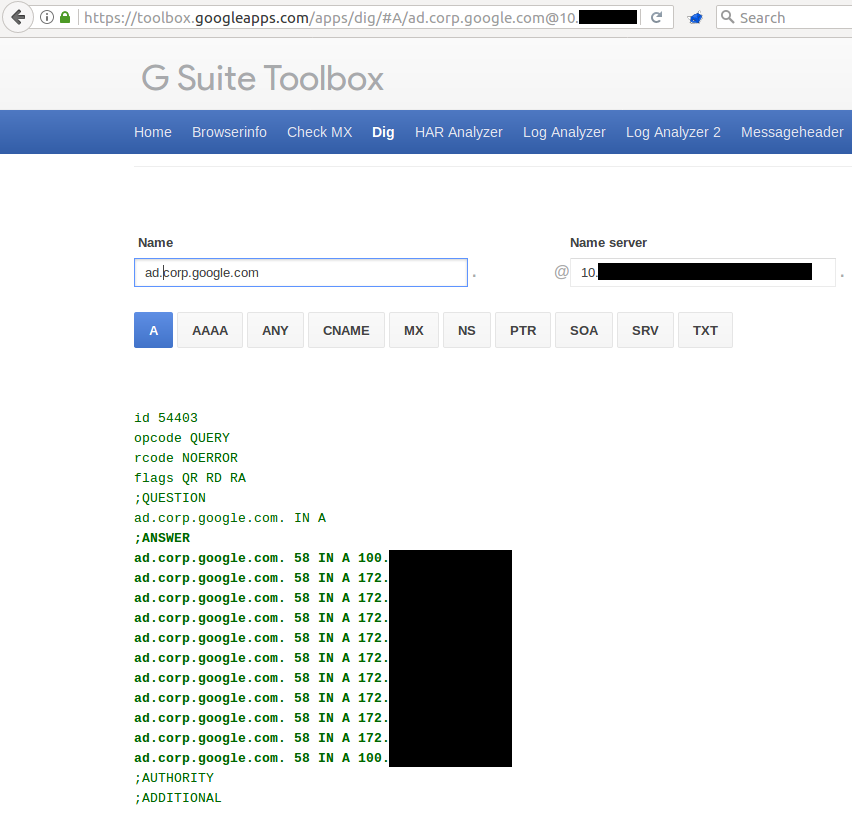 Ok Google, Give Me All Your Internal DNS Information! - RCE