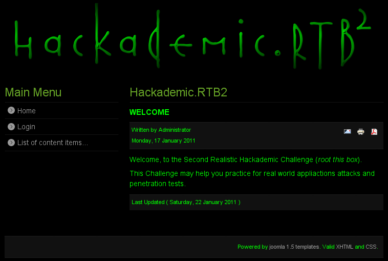 HackademicRTB2 and the Art of Port Knocking - RCE Security