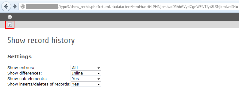 CVE-2015-5956: Bypassing the TYPO3 Core XSS Filter - RCE